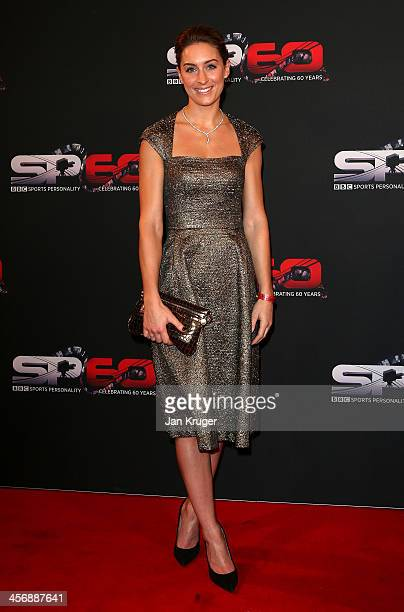 Amy Williams attends the BBC Sports Personality of the Year Awards at First Direct Arena on December 15 2013 in Leeds England
