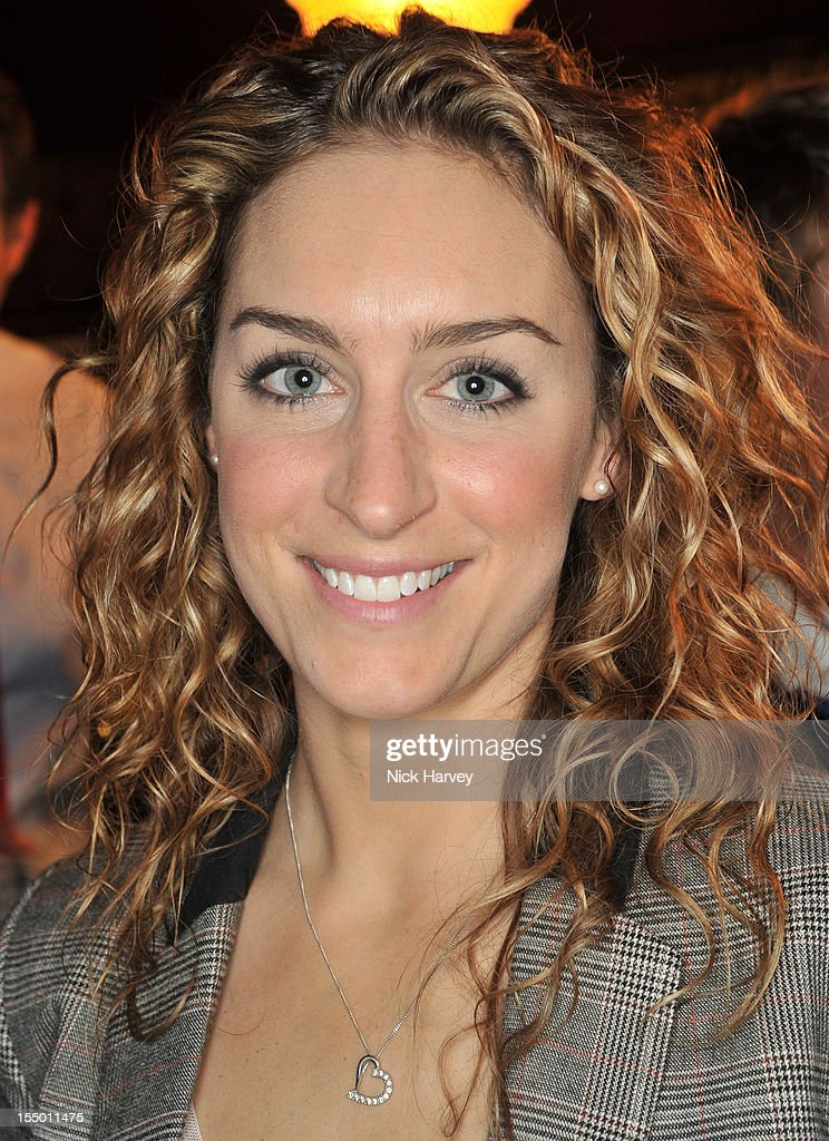 Amy Williams attends the Thomas Pink Presents The Pink Lion launch event on October 30, 2012 in London, England.