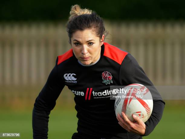 Amy Wilson Hardy during England Women Sevens training at Bisham Abbey on November 13 2017 in Marlow England