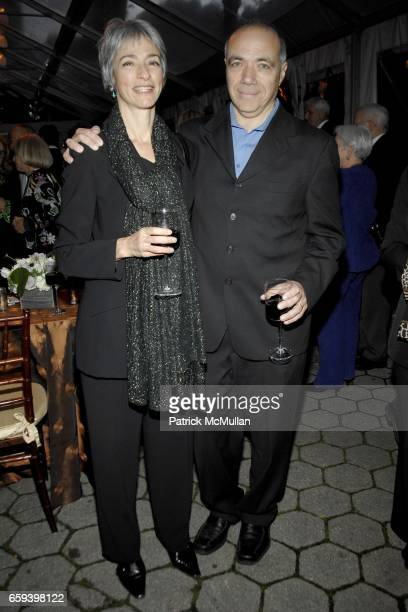 Amy Winarsky and Michael Takiff attend WILLIAM FLAHERTY Hosts Book Party for JAMES GARDNER's THE LION KILLER at The Central Park Zoo on September 30...