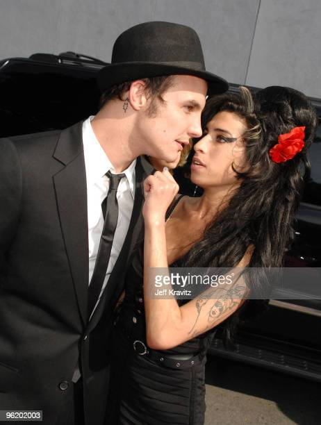 Amy Winehouse and husband Blake FielderCivil