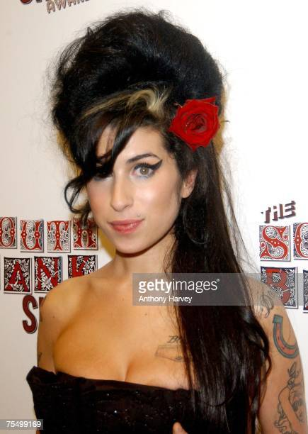 Amy Winehouse at the The Savoy in London United Kingdom