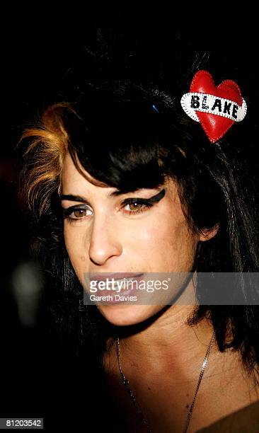 Amy Winehouse attends the 53rd Ivor Novello Awards at the Grosvenor House Hotel on May 22 2008 in London England