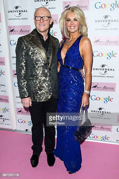 Amy Winehouse Foundation Ball 2014 Landmark Hotel London Britain 18 Nov 2014 John Caudwell And Claire Johnson