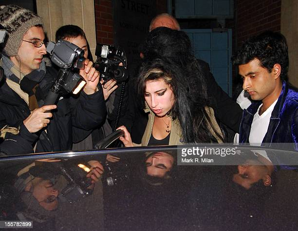 Amy Winehouse is seen on March 28 2007 in London England