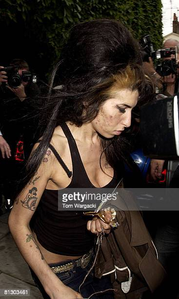 Amy Winehouse sighting on May 30 2008 in London England