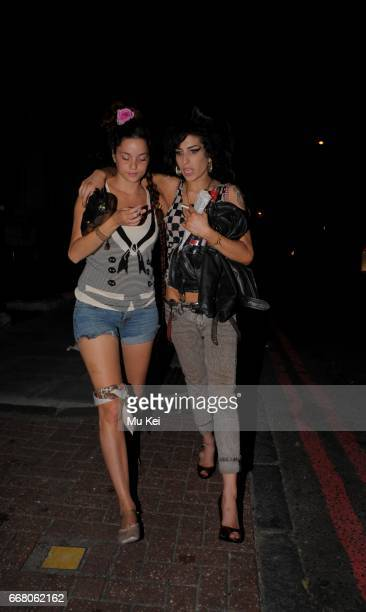 Amy Winehouse went out at 4 am after a day with her personal trainer Mitch and mother urging her to become healthy on July 26 2008 in London England...