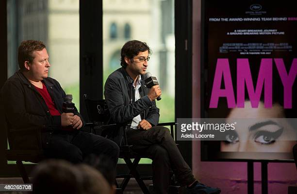 """Amy Winehouse's ex manager Nick Shymansky and Filmmaker AsifÊ Kapadia discusses his new film about Amy Winehouse called """"AMY"""" at AOL Studios In New..."""