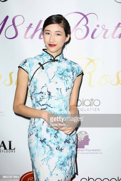 Amy Workman attends actress Ainsley Ross birthday party benefiting The Jonathan Foundation Upstairs At Vitellos on May 19 2018 in Studio City...