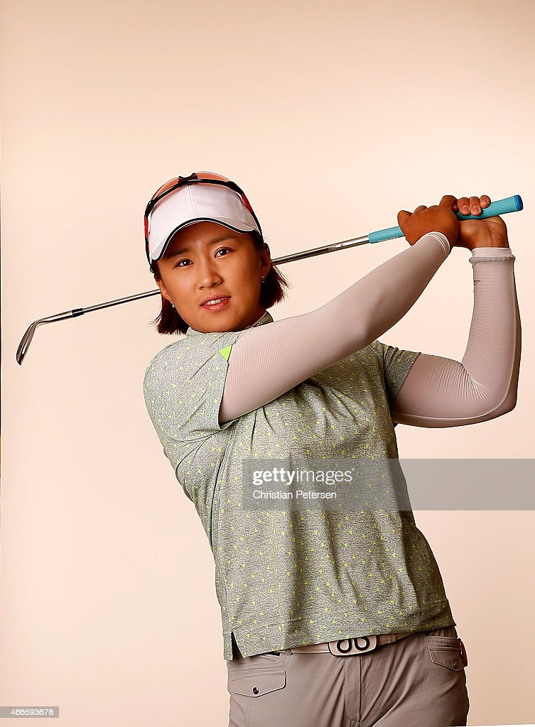 Amy Yang of South Korea poses for a portrait ahead of the LPGA Founders Cup at Wildfire Golf Club on March 17, 2015 in Phoenix, Arizona.