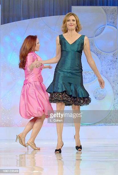 Amy Yasbeck and Brenda Strong during Runway For Life Benefiting St Jude Children's Research Hospital Sponsored by Disney's The Little Mermaid DVD and...