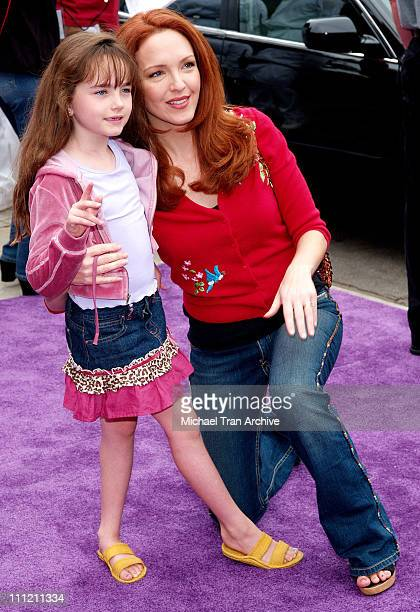 Amy Yasbeck and daughter Stella Ritter during Nickelodeon Presents Fairypalooza Premiere for 'Rugrats Tales From The Crib Snow White' Arrivals at...