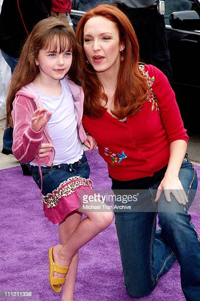 """Amy Yasbeck and daughter, Stella Ritter during Nickelodeon Presents Fairypalooza Premiere for """"Rugrats Tales From The Crib: Snow White"""" Arrivals at..."""