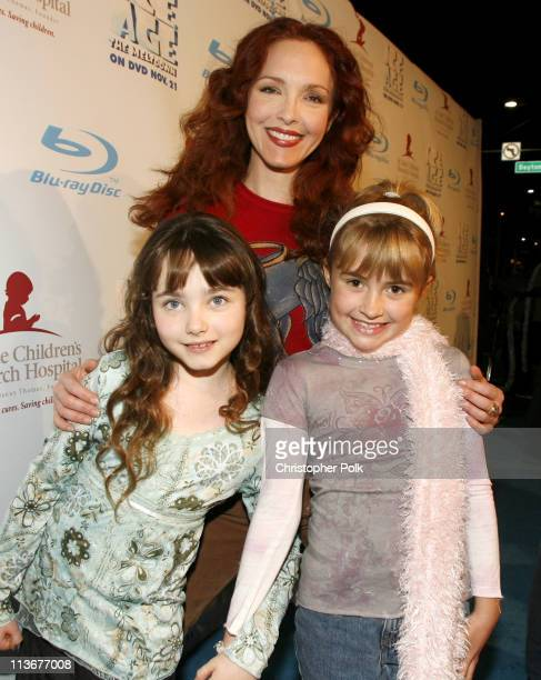 Amy Yasbeck and guests during 'Ice Age The Meltdown' DVD Release in Beverly Hills November 16 2006 in Beverly Hills California United States