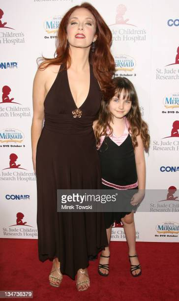 Amy Yasbeck and her daughter Stella Ritter during 'Runway for Life' Celebrity Fashion Show Benefiting St Jude Children's Research Hospital at Beverly...