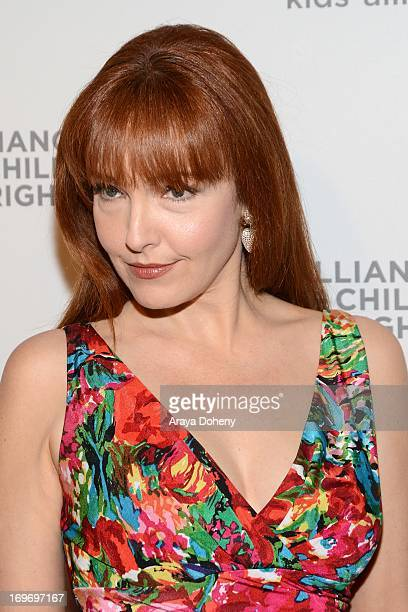 Amy Yasbeck arrives at the The Alliance for Children's Rights 4th annual right to laugh an evening of comedy event at Avalon on May 30 2013 in...