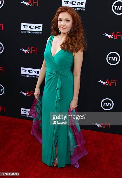 Amy Yasbeck attends AFI's 41st Life Achievement Award Tribute to Mel Brooks at Dolby Theatre on June 6 2013 in Hollywood California