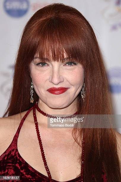 Amy Yasbeck attends the 23rd annual Night Of 100 Stars black tie dinner viewing gala held at the Beverly Hills Hotel on February 24 2013 in Beverly...