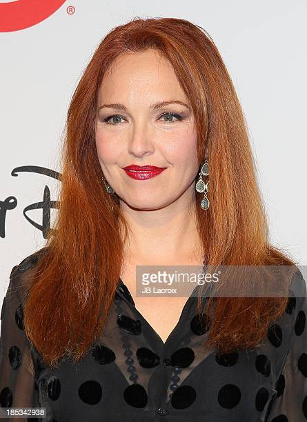 Amy Yasbeck attends the 9th Annual GLSEN Respect Awards held at Beverly Hills Hotel on October 18 2013 in Beverly Hills California