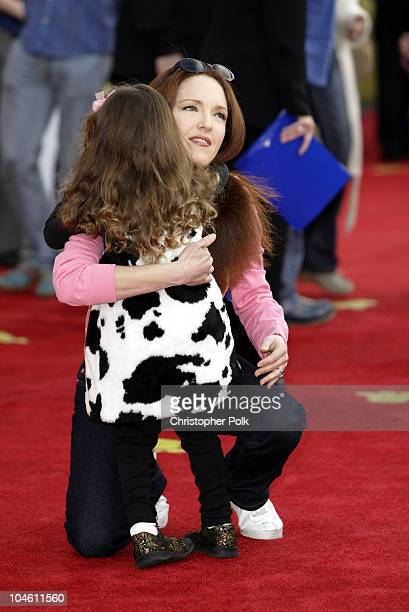 Amy Yasbeck during 101 Dalmatians 2 Patch's London Adventure DVD World Premiere at El Capitan Theatre in Hollywood CA United States