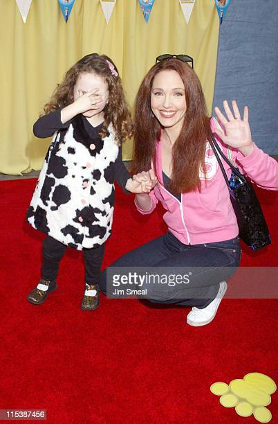 Amy Yasbeck during '101 Dalmatians 2 Patch's London Adventure' DVD World Premiere at El Captian Theatre in Hollywood California United States