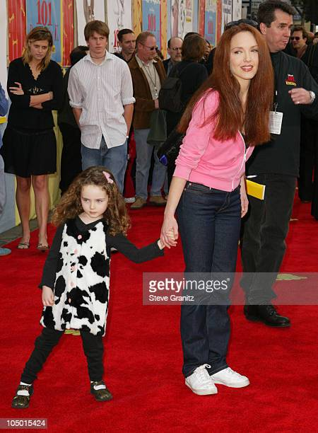 Amy Yasbeck during '101 Dalmatians II Patch's London Adventure' Premiere at El Capitan Theater in Hollywood California United States