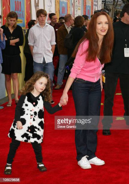 Amy Yasbeck during 101 Dalmatians II Patch's London Adventure Premiere at El Capitan Theater in Hollywood California United States