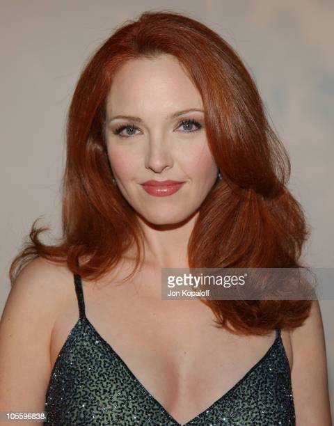 Amy Yasbeck during 2005 Fox's 'White Hot Winter' at Meson G Restaurant in Hollywood California United States