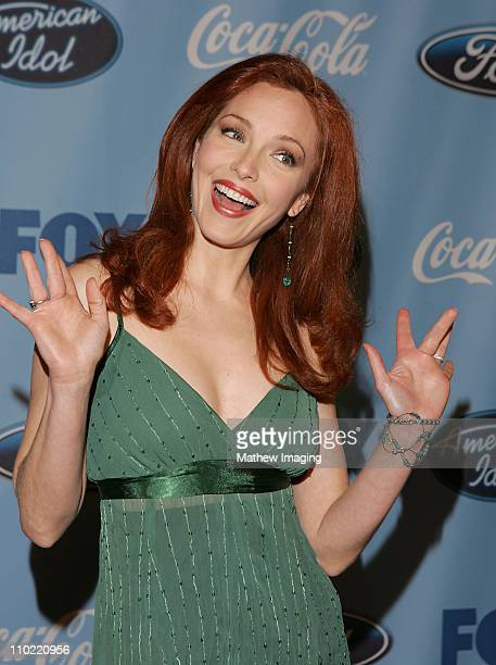 Amy Yasbeck during American Idol Top 12 Finalists Party March 9 2005 at The Pacific Design Center in West Hollywood California United States