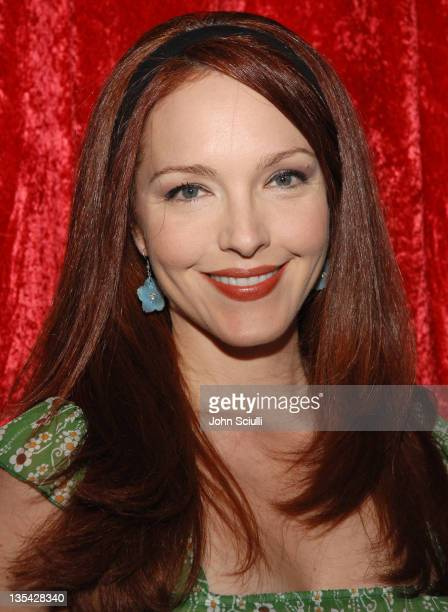 Amy Yasbeck during Cosmopolitan Invites You to Celebrate the Publication of Felicity Huffman's A Practical Handbook for the Boyfriend at Iconology at...