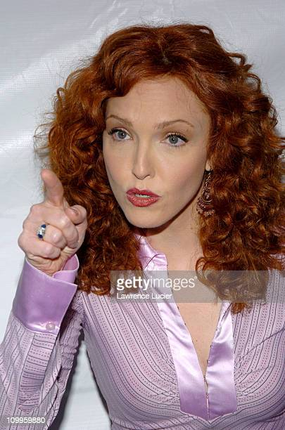 Amy Yasbeck during Fox Upfront 20042005 at The Boathouse in Central Park in New York City New York United States