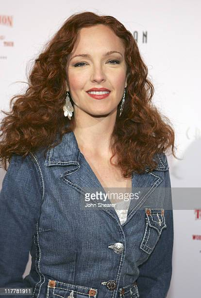 Amy Yasbeck during HollyRod/ True Religion Brand Jeans Fundraiser November 19 2005 at Private Residence in Beverly Hills California United States