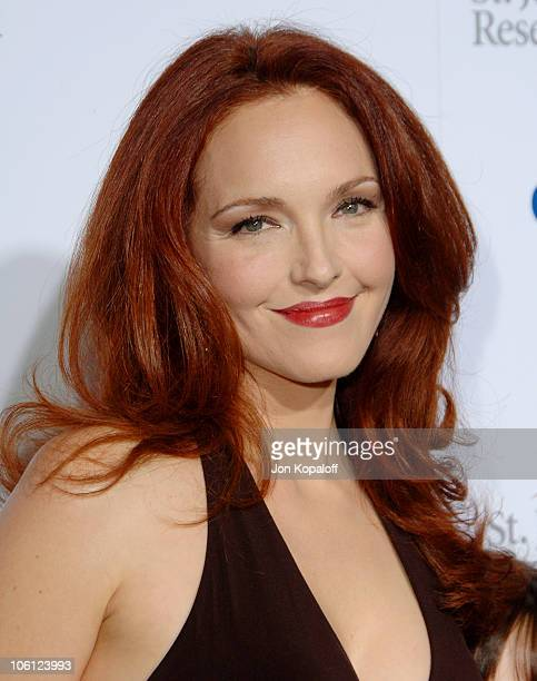 Amy Yasbeck during Runway For Life Benefiting St Jude Children's Research Hospital Arrivals at Beverly Hilton in Beverly Hills California United...