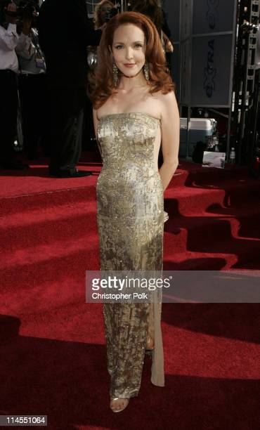 Amy Yasbeck during The 56th Annual Primetime Emmy Awards Arrivals at The Shrine Auditorium in Los Angeles California United States
