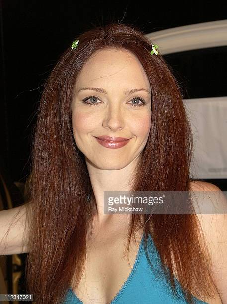 Amy Yasbeck during The 9th Annual Race to Erase MS CoChaired by Nancy Davis Tommy HilfigerSilent Auction at The Century Plaza Hotel in Century City...