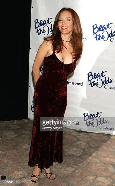 Amy Yasbeck during The Children's Defense Fund's 15th Annual Los Angeles Beat the Odds Awards Arrivals at Beverly Hills Hotel in Beverly Hills...