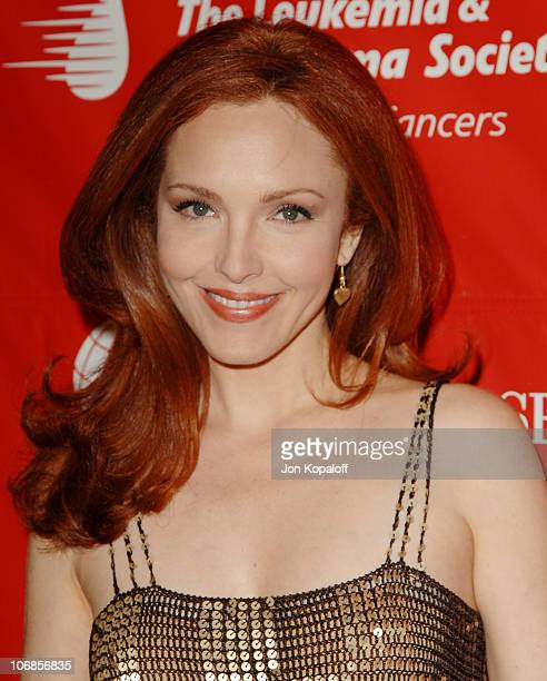 Amy Yasbeck during The Leukemia Lymphoma Society Presents The Inaugural Celebrity Rock 'N Bowl Event at Lucky Strike Lanes in Hollywood California...