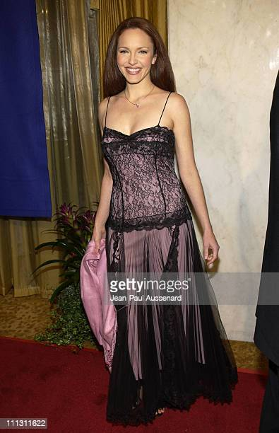 Amy Yasbeck during The Museum of Television Radio's Annual Los Angeles Gala at Regent Beverly Wilshire Hotel in Beverly Hills California United States