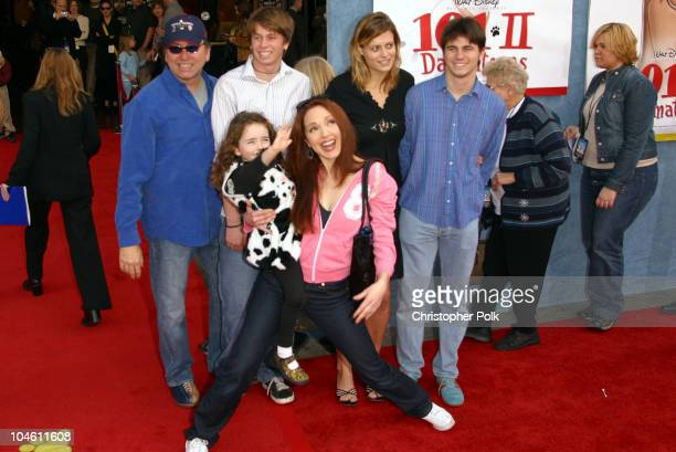 Amy Yasbeck John Ritter during 101 Dalmatians 2 Patch's London Adventure DVD World Premiere at El Capitan Theatre in Hollywood CA United States