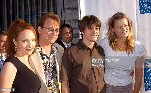 Amy Yasbeck John Ritter his son Jason Ritter daughter Carly Ritter