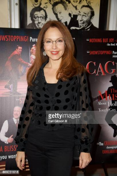 Amy Yasbeck Ritter attends the opening of 'Cagney' at El Portal Theatre on October 8 2017 in North Hollywood California