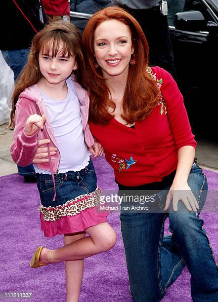 """Amy Yasbeck with daughter, Stella Ritter during Nickelodeon Presents Fairypalooza Premiere for """"Rugrats Tales From The Crib: Snow White"""" Arrivals at..."""