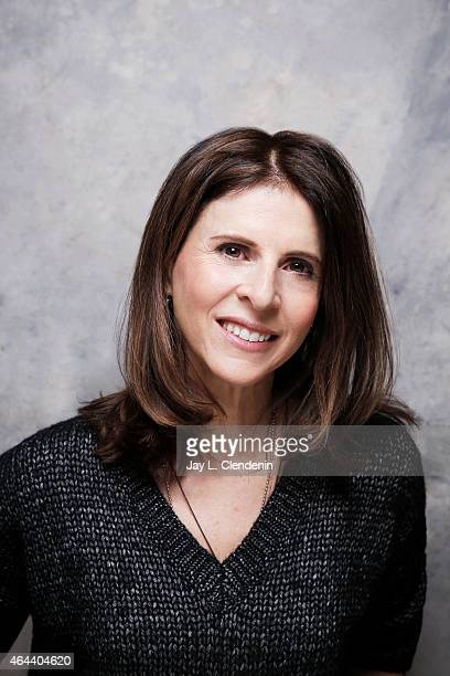 Amy Ziering is photographed for Los Angeles Times at the 2015 Sundance Film Festival on January 24 2015 in Park City Utah PUBLISHED IMAGE CREDIT MUST...