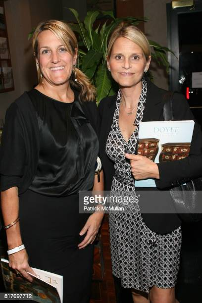 Amy Zoller and Hope Daley attend Mary McDonald book signing reception for her book 'Mary McDonald Interiors' at Doyle New York on October 25 2010 in...