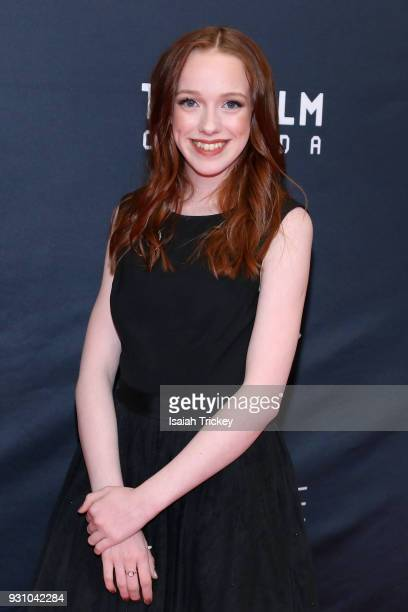 Amybeth McNulty arrives at the 2018 Canadian Screen Awards at the Sony Centre for the Performing Arts on March 11 2018 in Toronto Canada