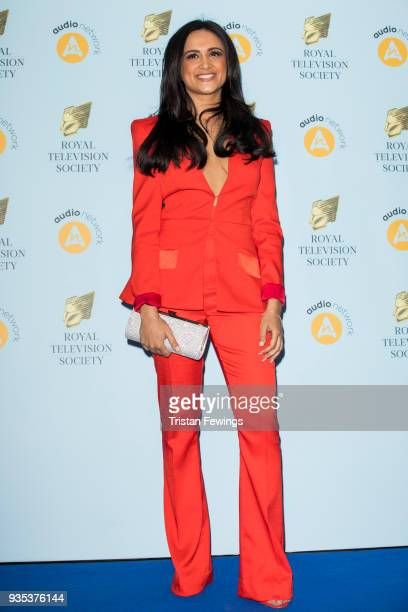 AmyLeigh Hickman attends the RTS Programme Awards held at The Grosvenor House Hotel on March 20 2018 in London England