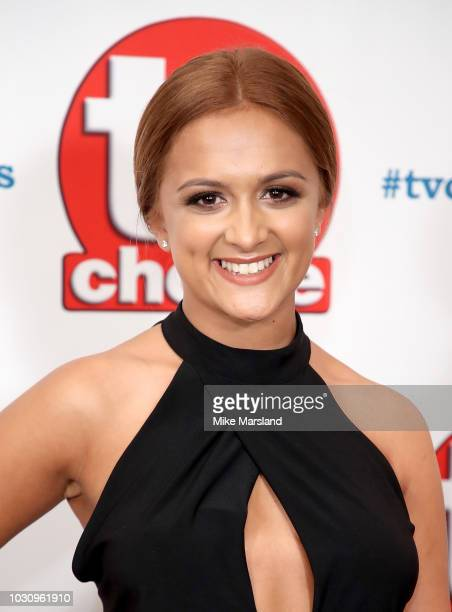 AmyLeigh Hickman attends the TV Choice Awards at The Dorchester on September 10 2018 in London England