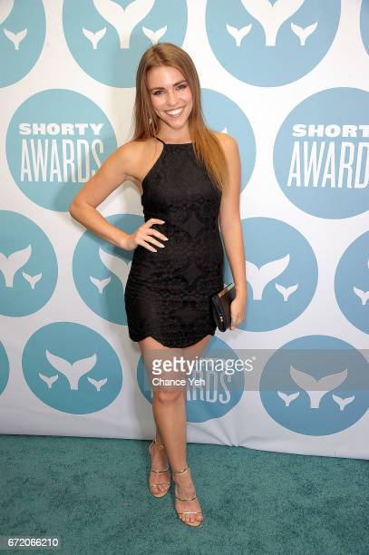 Amymarie Gaertner attends 9th Annual Shorty Awards at PlayStation Theater on April 23 2017 in New York City