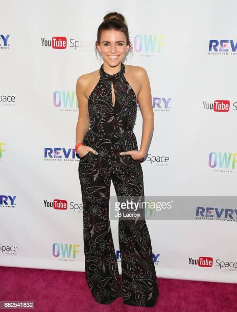 Amymarie Gaertner attends the OUT Web Fest 2017 LGBTQ Digital Shorts Festival on May 12 2017 in Culver City California