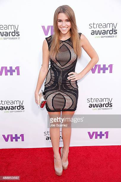 Amymarie Gaertner attends VH1's 5th Annual Streamy Awards at Hollywood Palladium on September 17 2015 in Los Angeles California
